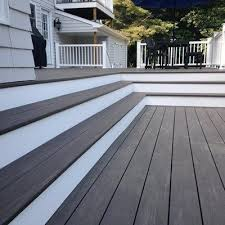 azek deck in dark hickory from the vintage collection azek deck