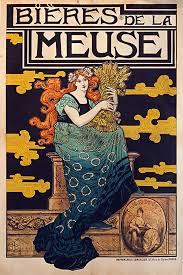 Bieres Meuse French Vintage Beer Poster