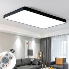 details zu 36w 72w led dimmbar deckenleuchte deckenle modern panel wohnzimmer leuchte