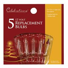 celebrations incandescent mini replacement bulb clear 5 pk 1145 2