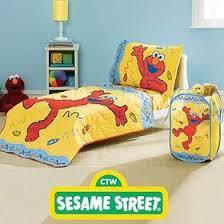 elmo sesame street toddler crib comforter sheet set elmo