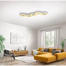 trio leuchten led deckenleuchte solitaire led board 5 st farbwechsler 5 teiliges modul system anordnung als wandle deckenle