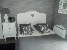 chambre grise et blanc gris chambre ado
