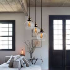 lupilla 3 light pendant mixed black and bronze metal with glass