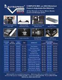 Adjustable Bed Base Split King by 8q 7s 5d 3e Reverie Adjustable Beds