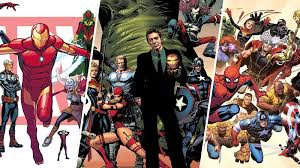 Banner Art For The Relaunches Of All New Different Marvel Now 20 And Fresh Start Image Left To Right David Marquez Mike Deodato Jim Cheung