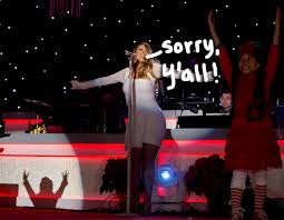 Nbc Christmas Tree Lighting 2014 Mariah Carey by Mariah Carey Formally Apologizes To Fans For Missing The Christmas