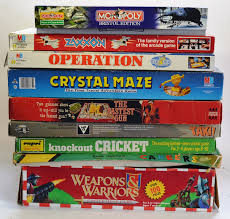 A Collection Of Vintage Board Games To Include Weapons Warriors