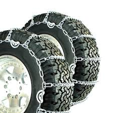 Titan V-Bar Tire Chains CAM Type Ice Or Snow Covered Roads 7mm 11.00 ...