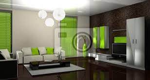 fototapete 3d wohnzimmer grün