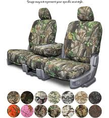 Custom Fit Camouflage Seat Covers For Chevy Silverado Pickup Truck ...