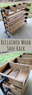 I LOVE The Look Of These Handmade Shoe Racks Reclaimed Cubbies Wood Rack Wooden Stand Fixer Upper Decor Rustic Home