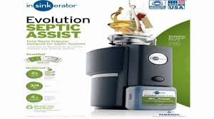 Insinkerator Sink Top Switch Sts So by Insinkerator Evolution Septic Assist 34 Hp Household Garbage