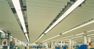 metal suspended ceiling strip intaline v base chicago