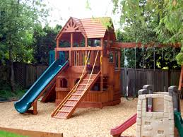Exterior : Kids Backyard Playground Wood Slider Backyard ... Backyard Gardens And Capvating Small Tropical Photo On Best Landscaping Ideas For Backyards With Dogs Kids Amys Office Kid 10 Fun Camping Together Room Friendly A Budget Sunroom Baby Dramatic Play Backyard Ideas Kid Friendly Exciting For Kids Tray Ceiling Pictures 100 Farms Tomatoes Cool Family 25 Unique Diy Playground On Pinterest Yard