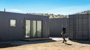 100 Container Shipping Houses Joshua Tree House Happy Mundane Jonathan Lo