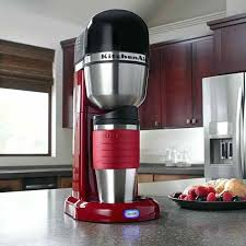 Kitchenaid Personal Coffee Maker Machine Empire Red A Additional 4 Cup