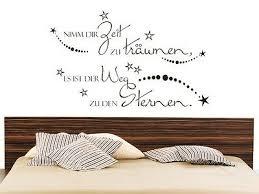 dekoration wandtattoo für schlafzimmer wandtatoo spruch nimm
