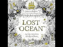 Johanna Basford Lost Ocean An Inky Adventure And Coloring Book PDF Download Free Kindle