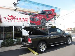 2018 Black Dodge RAM 1500 LEER 700 - : TopperKING | Providing All Of ...
