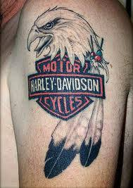Harley Davidson Tattoos And History Tattoo Designs