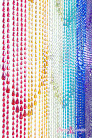 Doorway Beaded Curtains Wood by Bamboo Doorway Beads Door Curtains Ikea Raindrops Rainbow