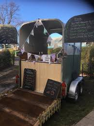 Vintage Catering Trailer Horse Conversion Coffee Prosseco Gin Bar Weddings