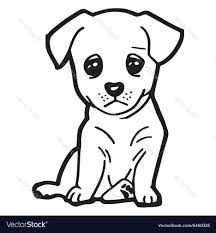 Coloring Pages Of Cute S Within Dog