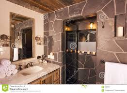 rustikales badezimmer stockbild bild badekurort modern