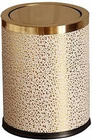 jd papierkörbe badezimmer und wohnzimmer toilette edelstahl mülleimer küche badezimmer kreative flip müll recycling fach 9l 12l einfache form farbe