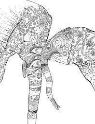 46 Beautifully Drawn Coloring Pages Of Animals