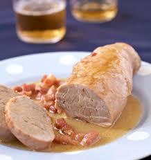 comment cuisiner le filet mignon de porc filet mignon de porc à la bière et aux lardons les meilleures