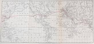 Ulysses S Grants World Tour Map