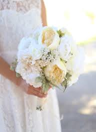 Silk Bride Bouquet White Cream Roses Peonies Wildflowers Natural Shabby Chic Vintage Inspired Rustic Wedding
