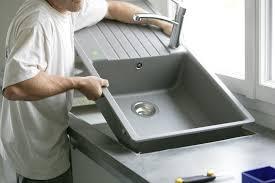 evier de cuisine en le prix d un évier et de sa pose pour votre cuisine