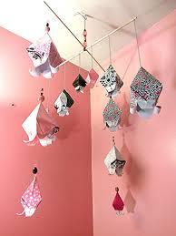 origami chambre bébé chambre de bébé mobile mobile pour bébé lit mobile suspendu