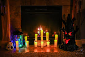 Halloween Mantel Scarf by Halloween Fireplace Mantel Ideas Decor For Mantels Of All Colors
