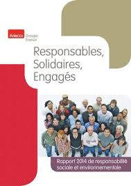 siege social adecco rapport rse 2014 du groupe adecco by adecco groupe