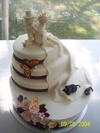 Jenss Decor And Catering by Muscoreils Fine Desserts Wedding Cake North Tonawanda Ny