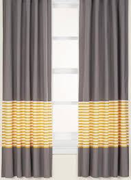 inspiration to diy custom curtains with adding a stripe of fabric