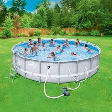 Coleman Power Steel 18 X 48 Frame Swimming Pool Set