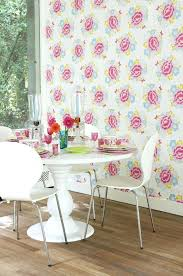 Shabby Chic Kitchen Wallpaper Best Trends Images On This Retro Floral Design By Paper Moon Is