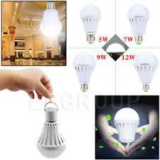 e27 energy saving emergency led smart bulb outdoor home battery