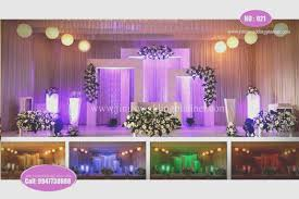 Outdoor Wedding Stage Decorations Luxury Decoration Ideas Kerala Mandapam