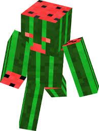 Minecraft Melon Seeds by Melon Nova Skin