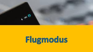 flugmodus einschalten am handy android smartphone tipp