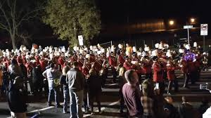 West Chester Halloween Parade by Boyertown Middle Marching Band Halloween Parade 2017 Youtube