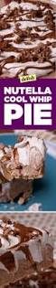 Pumpkin Chiffon Pie With Cool Whip by Best Nutella Cool Whip Pie Recipe How To Make Nutella Cool Whip Pie