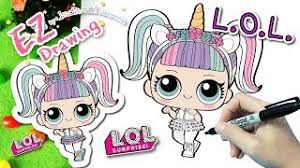 LOLSurprise Doll UnicornHOW TO DRAWEP21Series 3