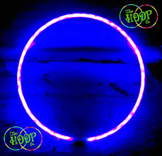 BLACKLIGHT UV Hula Hoop Ultra Bright 50xLED s super high density